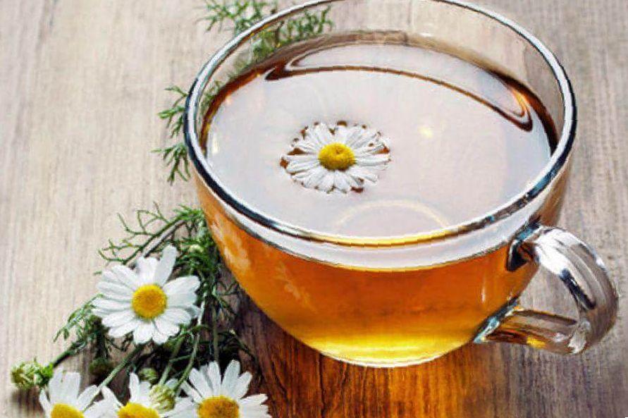 camomile weed tea