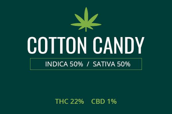 Marijuana Cotton Candy