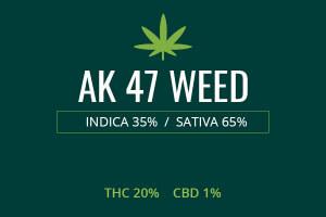 Marijuana AK 47 Weed