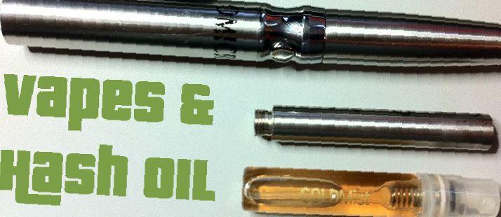vaporize hash oil