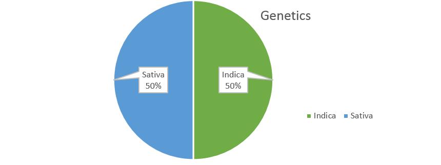 LA Confidential weed strain genetics