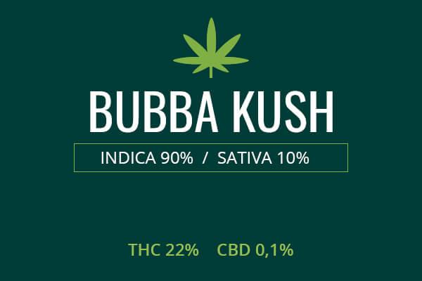 Marijuana Bubba Kush