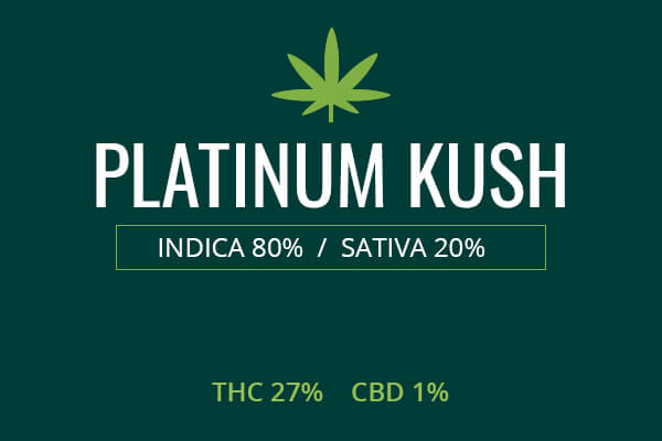 Marijuana Platinum Kush