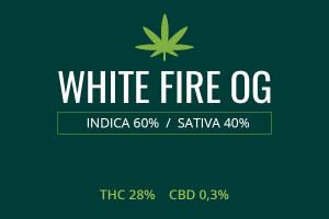 Marijuana White Fire OG