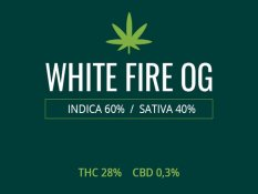 Marijuana White Fire OG