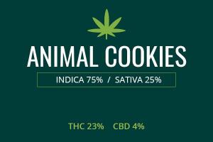 Marijuana Animal Cookies