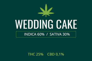 Marijuana Wedding Cake