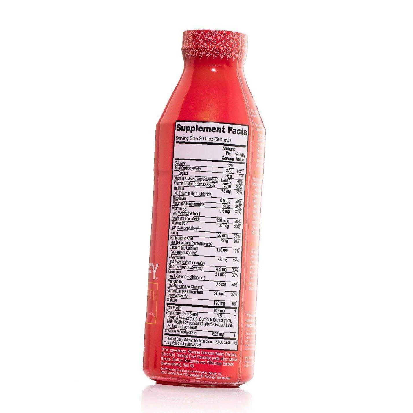 Detoxify Xxtra Clean drink bottle
