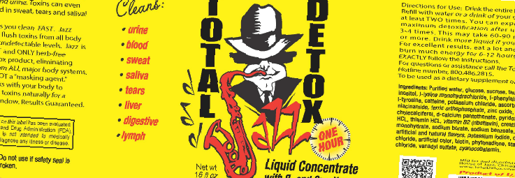 Jazz Total Detox Instructions