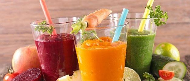 vegetable smoothy detox drinks