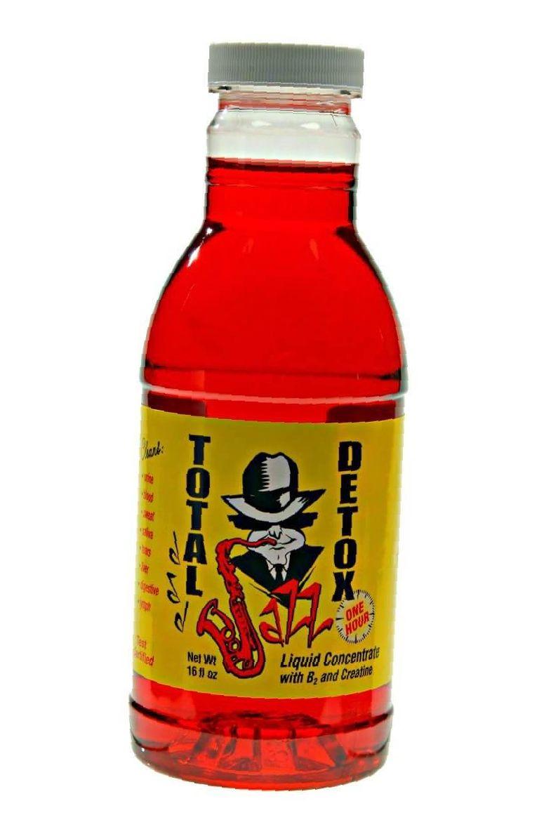 Jazz Total Detox Bottle