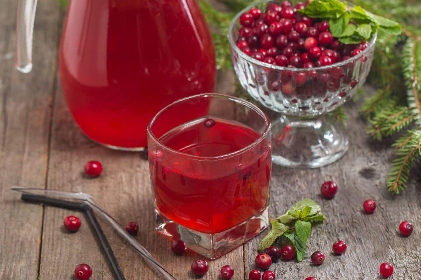 cranberry juice for detox