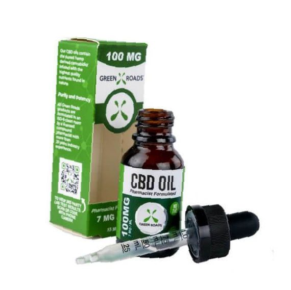 Green Roads CBD oil 100mg