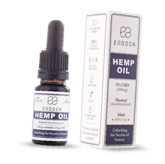 Endoca Hemp Oil Drops 300mg