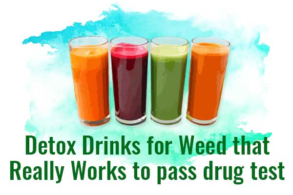 Detox Drinks for Weed that Really Works to pass drug test - NCSM
