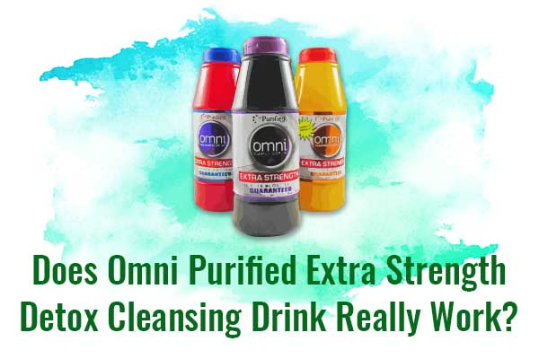 Does Omni Purified Extra Strength Detox Cleansing Drink
