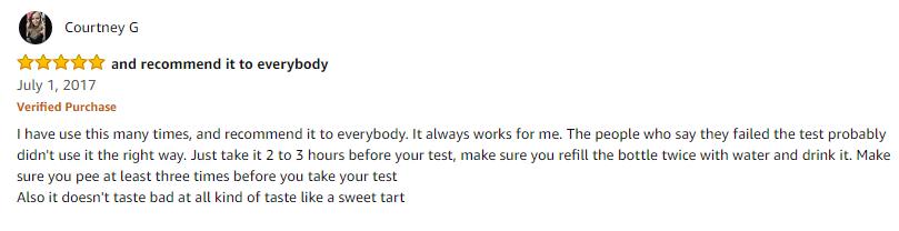 Positive Ultra Eliminex Reviews