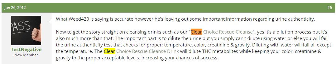 Clear Choice Rescue Cleanse Social Media