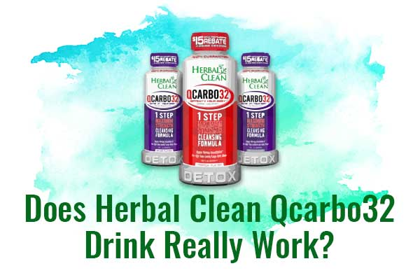 Herbal Clean Qcarbo32 Drink