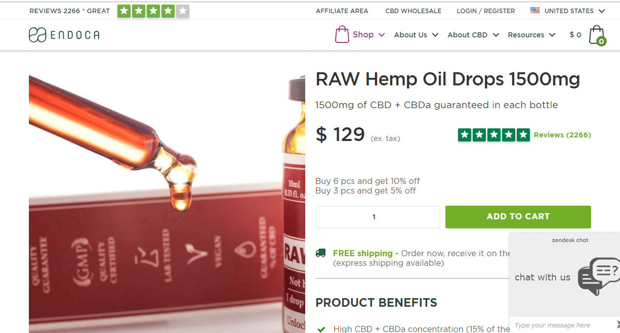 raw hemp oil drops 1500mg