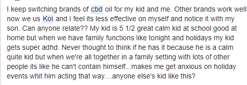 Koi CBD Oil review C