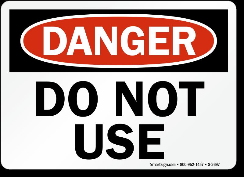danger photo