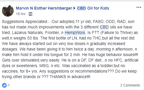 Hempworx CBD Oil review C