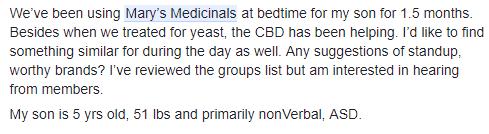 Mary's Medicinals CBD Oil review A