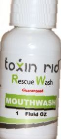 Toxin Rid Rescue Wash Mouthwash