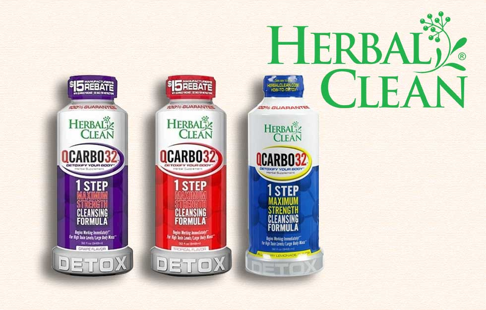 how do you use herbal clean qcarbo32